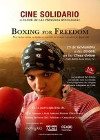 Cine solidario – Boxing for freedom